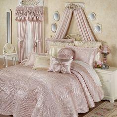 Portia II Grande Bedspread Rose Quartz