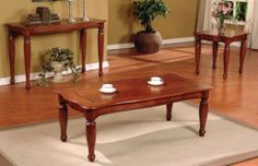 3-pc Pack Coffee Table and End Table Set in Cherry #AD 41230 HP,http://www.amazon.com/dp/B0044PNM3Y/ref=cm_sw_r_pi_dp_DJP.sb08FQ5WV3SY