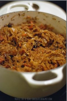 Trufla: Bigos świąteczny Good Food, Yummy Food, Reception Food, Polish Recipes, Polish Bigos Recipe, Polish Food, Pork Dishes, Special Recipes, International Recipes