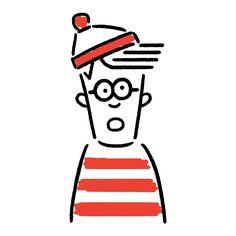 Wally #wally #where'swally #waldo #where'swaldo #seijimatsumoto #松本誠次 #art #drawing #illustration #illustrator #book #イラスト #ウォーリーをさがせ #ウォーリー