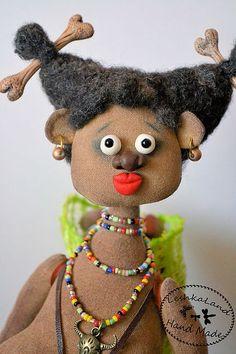 Bonecas Artesanais com sabor. Mestres - Feira artesanal Unfufun. Handmade.