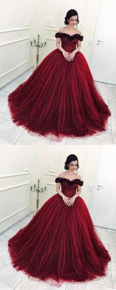 burgundy ball gowns quinceanera dress,ball gowns prom dress,maroon wedding dress,sweet 16 dress,sweet 15 dress