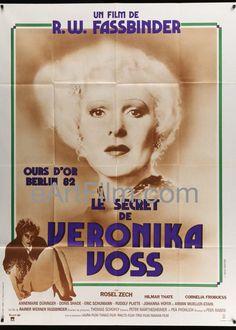 #HappyBirthday #RainerWernerFassbinder https://eartfilm.com/search?q=fassbinder #Fassbinder #directors #directing #filmmakers #filmmaking #VeronikaVoss #Querelle #movie #movies #poster #posters #film #cinema #movieposter #movieposters    Veronika Voss-Rainer Werner Fassbinder-Rosel Zech-French 1 Panel-47x63