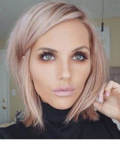 How I want my hair: Rose gold low lights