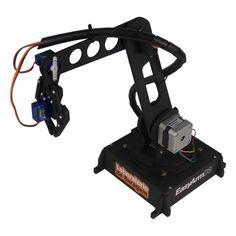 Mão Robótica de baixo custo controlada por Arduino - Laboratorio de Garagem (arduino, eletrônica, robotica, hacking)