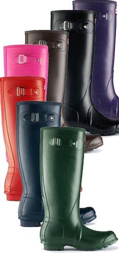 Hunter Original Tall....pick a colour, any colour!