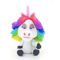 "Disney Pixar Inside Out Mystery Minis - Rainbow Unicorn Ratio: 1 / 12 3"" Vinyl Figure Year: 2015 This is an open box figure."