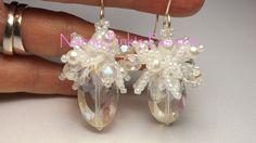 Tutorial ($8.50) Ballerina Earrings & Tutu Earrings by NannyPinksPassion