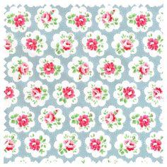 Cath Kidston Fabric Haberdashery Cotton Provence Rose by MissElany