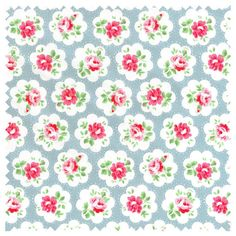 Cath Kidston Fabric Haberdashery Cotton Provence Rose by MissElany