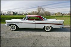 1957 Chrysler New Yorker Two Door Hardtop Chrysler Voyager, Vintage Cars, Antique Cars, Move Car, 50s Cars, Chrysler New Yorker, Chrysler Imperial, Sweet Cars, American Muscle Cars