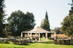backyard wedding.. I love it