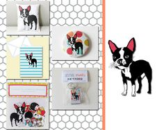 Boston Terrier Gift Set, Pack