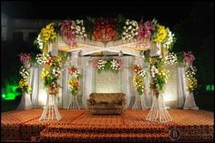 this is the best flower theme decorations of wedding functions...** #themedecorations #flowerdecorations #cutelightsaettings #baludecorators