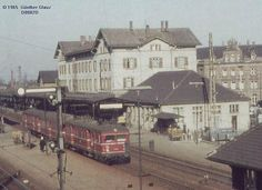 Ludwigsburg Bahnhof as I remember it in the 70's.