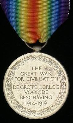 The British Victory Medal WWI Bi-lingual South African Issue Canadian Army, British Army, World War One, First World, Medan, British Medals, War Medals, Historia Universal, British Armed Forces