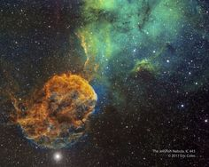 Astronomy Picture of the Day 2017 January 7 Sharpless 249 and the Jellyfish Nebula Image Credit & Copyright: Eric Coles