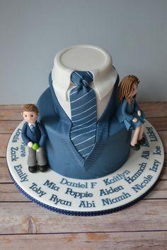 Year 6 leavers cake - Cake by AMAE - The Cake Boutique