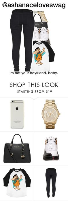 """Dab"" by trillest-shauney ❤ liked on Polyvore featuring Michael Kors, MICHAEL Michael Kors, Retrò and Dr. Denim"