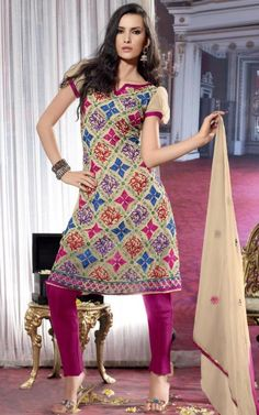 Check out and try this Awesome anarkali  salwar kameez