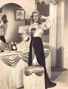 """a-vintage-heart: """" Ginger Rogers """" Hollywood Fashion, Vintage Hollywood, Hollywood Stars, Old Hollywood Style, Old Hollywood Glamour, Golden Age Of Hollywood, Classic Hollywood, Old Hollywood Vanity, Hollywood Room"""