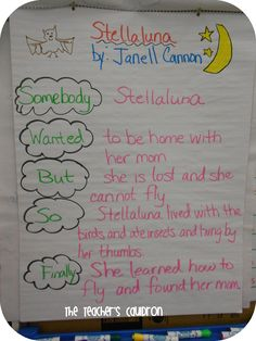 The Teachers' Cauldron: Stellaluna SWBSF Freebie!