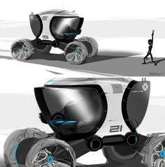 © Vladimir Chepushtanov | Russia links: www.behance.net/... chepushtanovv.blo... www.instagram.com... Renault #moon #rover #exterior #wip #sketch #doodle #art #inktober #inktober2016 #pen #interface #cab #drawing #design #Cardesign #automotive #space #vision #future #offroad #carporn #trash #robotic #photoshop #speed #drive #concept #project #car #automotive #renault