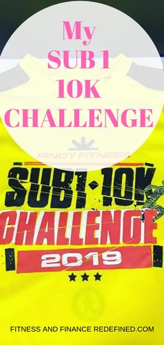 I signed up for this race to challenge myself to finish a in under an hour or 60 minutes. My Knee Hurts, It Hurts, Challenge Me, Workout Challenge, Sun Life Financial, Beginning Running, Before Running, Running Race, I Can Do It