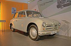 August Horch Museum Zwickau  AWZ P70 (1955), carrosserie en Duroplast) in HDR by www.nb-fotos.de, via Flickr