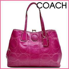 Beautiful pink Coach Handbag.