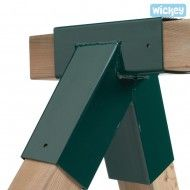Schaukel Verbinder 90/90 mm grün, für den Schaukel Eigenbau