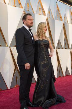 Leonardo DiCaprio y Kate-Winslet