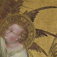 The Getty — Surrounded by multi-winged seraphim, the Virgin...