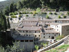Le Celle Hermitage above Cortona