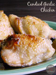 Candied Garlic Chicken