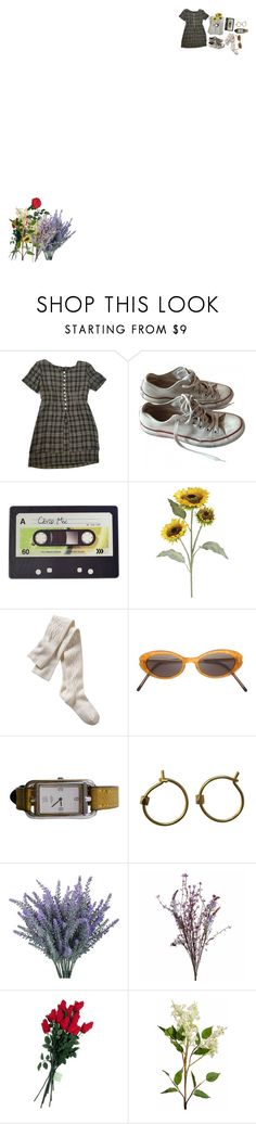 """""""I wrote you a love letter in a field of flowers"""" by rainyshelby ❤ liked on Polyvore featuring Converse, Bullet, Joseph Joseph, Pier 1 Imports, Gap, Yohji Yamamoto, Abigail Ahern, Hanky Panky, Wyld Home and Nearly Natural"""