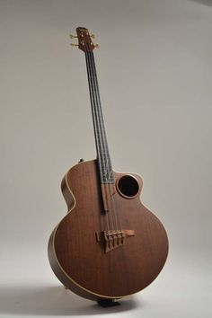 2001 Taylor AB2 4-String Acoustic Bass, Robert Yelin