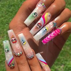 beauty hacks gesichts make up gestyltes make up make up madchen bestes make up inspiration - The world's most private search engine Aycrlic Nails, Dope Nails, Bling Nails, Swag Nails, Glitter Nails, Sparkle Nails, Stiletto Nails, Best Acrylic Nails, Acrylic Nail Designs