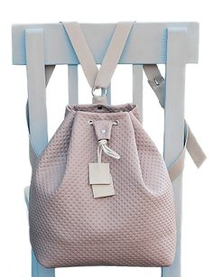 Do you like going around with your hands free? Multi Way Bag is made for you, can be carried as backpack, on the shoulder or as cross body...  #2016 #Spring