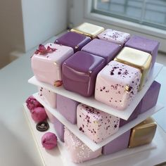 Pretty Cakes, Cute Cakes, Beautiful Cakes, Amazing Cakes, Fancy Desserts, Fancy Cakes, Mini Cakes, Cake Decorating Techniques, Love Cake
