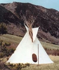 The Reliable Tipi - The Sioux -- Barre Army/Navy Store Online Store for ya birfday Army Navy Store, Army & Navy, Camping 3, Camping Stuff, Recycled House, Canvas Tent, Teepee Tent, Backyard Paradise, California Camping