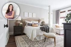 Designer Marie Flanigan Gives Us an Inside Look at her Houston Home | Interior Design by Marie Flanigan of Marie Flanigan Interiors | Photography by Julie Soefer | Modern Sanctuary | Bedroom Inspiration | Glamorous Bedroom | Seating Inspiration | Bedding | Lighting Inspiration