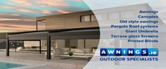 Awning Manufacturer and Installer of Awnings, Canopies and Blinds in Dublin, Kildare, Cork Ireland. Pergola With Roof, Covered Pergola, Pergola Shade, Commercial Blinds, Commercial Canopy, Outdoor Blinds, Outdoor Pergola, Water Drainage System, Motorized Blinds
