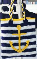 Anchor Tote by ladylinoleum, via Flickr  - Crochet Today! 2008 pattern
