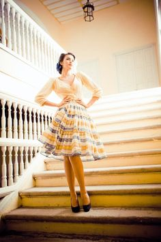 Lena Hoschek --love the skirt and blouse