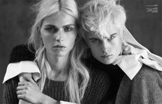 Androgynous Fashion Shoots - The rise in popularity of models like Andrej Pejic and Agyness Deyn has certainly contributed to the recent boom in androgynous fashion shoots seen...