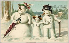 Wikimedia Suomi ry:n uusi hallitus aloitti eilen. (picture: The National Library of Norway, Vintage Cards, Vintage Postcards, Vintage Images, Holiday Cards, Christmas Cards, Christmas Eve, New Year Card, Pansies, Vintage Shops