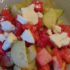 Watermelon Summer Salad Recipe   Just A Pinch Recipes