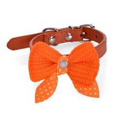 365mx® Pu Leather Bow Dog Collar Necklace Adjustable Pretty Bowknot Collars For cat Dogs Cats Puppy Harness Small Size Drop Shipping ** Special cat product just for you. See it now! : Cat Cages, Carrier and Strollers