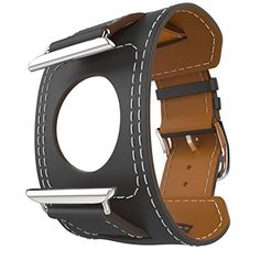 Sourced from Nature Crafted by Heart. This Top-Grain Leather Strap is designed for Apple Watch/iWatch released on 2015 specially. Apple Watch Cuff Band Apple Watch Band LeatherGenuine Leather Ba...